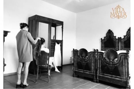 La comodità e il relax prima della cerimonia? L'esperienza di sposarsi e soggiornare a Villa Mayer