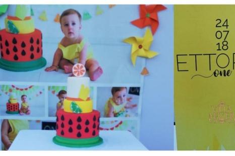 Ettore e la festa per il suo primo compleanno: colori, spettacolo, buon cibo e tanta musica!