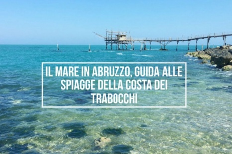 The beaches of the Trabocchi Coast