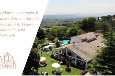 Villa Mayer – un angolo di paradiso sul promontorio di San Giovanni in Venere  che domina la costa  dei Trabocchi